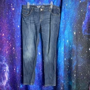 Mossimo- Slim Skinny Medium Wash Jeans size 17s